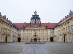 Jakob Prandtauer, Monastery Church Courtyard, Melk, Austria, 1702-