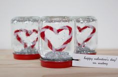 Snow Globe Valentines - 25 DIY Valentine Day Gifts For Her