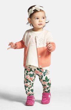 Tucker+++Tate+Colorblock+Sweater+(Baby+Girls)+available+at+#Nordstrom
