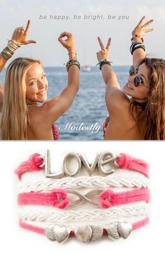 Inspiration can be beautiful and fashionable. Choose from our large collection of handmade wrap bracelets. Our Love Bracelet is an accessory that inspires. A perfect gift idea for your best friend. Start shopping your favorite wrap bracelets! Free shipping over $30. #ModestlyJewelry