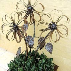 metal garden art - Google Search