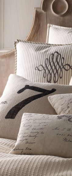French Laundry Pillows