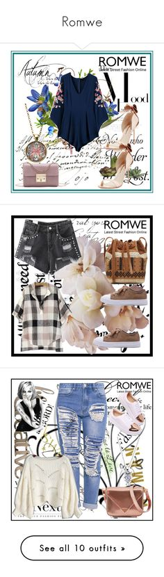 """""""Romwe"""" by dinka1-749 ❤ liked on Polyvore featuring Pier 1 Imports, Sophia Webster, Disney, Vanessa Bruno, Letter2Word, LIST, Alexander Wang, Miss Selfridge, Valentino and Dolce&Gabbana"""
