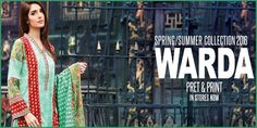 WARDA Spring Summer Collection 2016 With Price http://www.womenclub.pk/warda-spring-summer-collection-2016-price.html? #WARDA #WARDACollection #SummerCollection