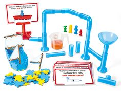 Water Play STEM Early Learning Kit at Lakeshore Learning