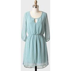Hattie Polka Dot Dress ($47) ❤ liked on Polyvore