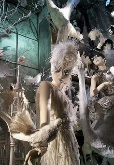 https://flic.kr/p/5ESaY1 | Bergdorf Goodman window: The Seasons: Spring (close-up) | Bergdorf Goodman Christmas window, taken by night without a flash.   I thought I had enough light on the street and inside the window to get by without a flash, but a lot of the photos were too blurred and smeary. I felt that a lot of the close-ups turned out nicely, though.  I'll have to go back another night with my flash on.   ( Highest Explore position: #330 on December 12, 2008 o/ )