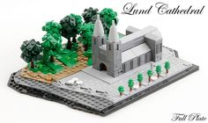 Miniature Lund Cathedral has no shortage of detail