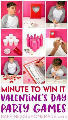 These Minute To Win It Valentine Games Will Be The Hit Of Your Valentineu0027s  Day Party! Valentine Minute To Win It Games For Kids And Adults   Everyone  Will ...