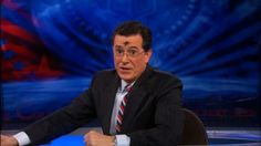 Stephen Colbert, Catholic, rocking those ashes on TV! You have to admire a man living his faith!