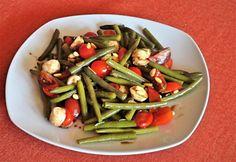 Olaszos zöldbabsaláta