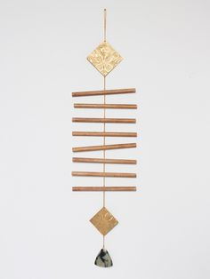 Brass Wall Hanging #3 – susan connor new york