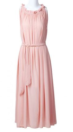 Pretty color. Could almost be a bridesmaid dress.