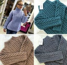 Cable Knit Sweaters, Knit Cardigan, Knit Patterns, Knitting Projects, Merino Wool Blanket, Knitwear, Winter Outfits, Men Sweater, Pullover