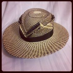 Corina Haywood Hand Sculpted Patterned Panama Straw Hat Hand Woven in Ecuador. contact corinamyla@gmail.com for sales inquiries.