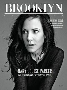 "Brooklyn Magazine. Autumn 2013. ""The Fashion Issue""."