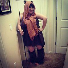 My DIY Ewok cosplay costume