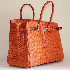 Orange Birkin Bag