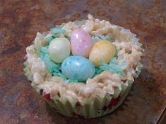 Make and share this Easter Nest Rice Krispies Treats recipe from Food.com.