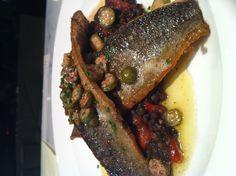 ... piquillo peppers - black beluga lentils - brown butter - caper berries