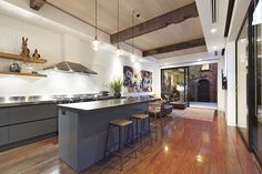 Shine a light on the best aspect. Recycled Blackbutt Timber Flooring