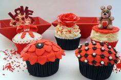De Cupcakes.: Cupcakes Red Velvet... para cualquier momento.
