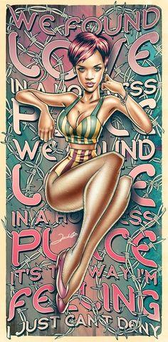 Rihanna art #fanart