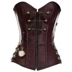 new line of steampunk corsets at corset story...not that it's a good idea to do business with them