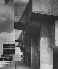 Central Lecture Theatre, Brunel University Uxbridge  London 1966