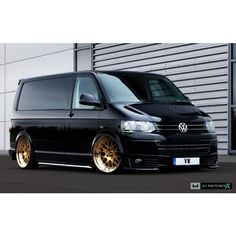 Vw t5 black and gold - stance - ma_photoworx's photo on Instagram