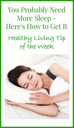 Most women don't get enough sleep. If you're one of them, here are 5 simple strategies to help you get more sleep. Healthy Habits, Get Healthy, Healthy Tips, Healthy Recipes, Health And Wellness, Health Fitness, Lose Weight, Weight Loss, Relaxation Techniques
