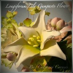 Longiforum Lily Gumpaste Flower