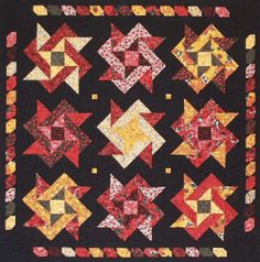 PoppyQuilt1.gif (900×908)  - free pattern - interesting block!