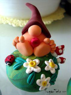 #cajitas para decorar y guardar pequeños tesoros. Realizadas con #pastamodelable de secado al aire #manualidades #adornos #duende #jumpingclay #magicdough
