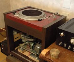 NEC broadcast turntable