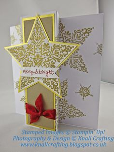 Knall Crafting! Sparkling Christmas Creations using Bright and Beautiful from Stampin' Up!