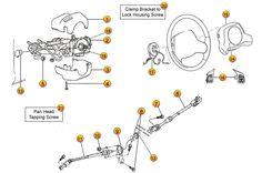 Jeep Wrangler TJ Suspension Parts Exploded View Diagram