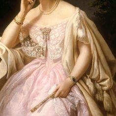 Renaissance Paintings, Renaissance Art, Victorian Art, Victorian Fashion, Fashion History, Fashion Art, Robes Vintage, Princess Aesthetic, Classical Art