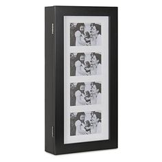 Special Offers - Bellezza Photo Frames Jewelry Wall Mount Armoire Cosmetic Storage Pictures Cabinet Black - In stock & Free Shipping. You can save more money! Check It (May 15 2016 at 10:36PM) >> http://bathroomvanitiesusa.net/bellezza-photo-frames-jewelry-wall-mount-armoire-cosmetic-storage-pictures-cabinet-black/
