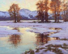 Morning's Quiet by Kim Lordier Pastel ~ 24 x 30
