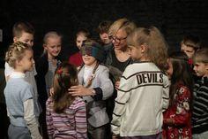 """""""Театральный мастер-класс"""". Корпоративное мероприятие деловой газеты """"Город N"""".   #makaronka #makaronka_space #gorodn #theatre #masterclass #workshop #children"""