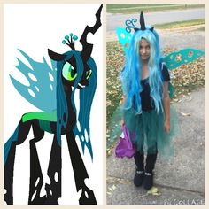 MLP QUEEN CHRYSALIS COSTUME