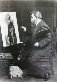 Joaquin Sorolla y Bastida at work