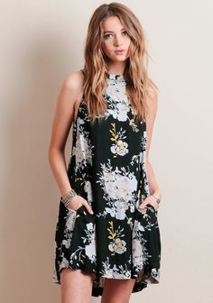 Sun Dance Floral Dress By Knot Sisters at threadsence.com