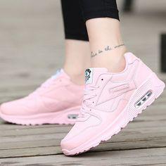 save off bac1f ae2c4 Vova   Zapatillas de deporte de las mujeres Zapatillas planas inferiores  suaves Zapatos casuales de la