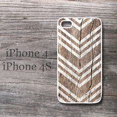 vintage wood print chevron iphone case geometric  texture snap on case for i phone