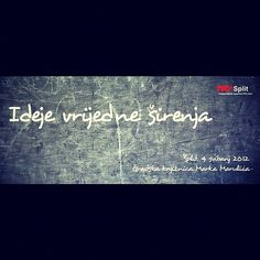 LIVE Streamamo u petak... stay plugged... #TEDx #Split #Croatia