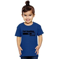 Fart Loading Funny Toddler T-shirt