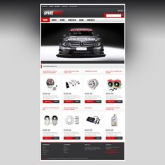 Take a closer look at this Top Quality Spares WooCommerce Theme ( - discover all the technical characteristics and requirements prior to buying it. Web Design Websites, Craft Websites, Web Design Software, Ux Design, Design Ideas, One Page Website, Brand Fonts, Portfolio Website, Photography Website