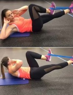 18 Best Resistance Band Exercises For Body Toning & Fitness - Fit - Pilates Resistance Band Training, Best Resistance Bands, Resistance Band Exercises, Strength Training, Loop Band Exercises, Band Workouts, Body Exercises, Toning Workouts, Mixer Test